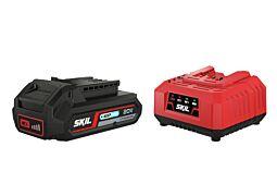 "SKIL 3110 AA Akumulator (litij-ionski ""20V Max"" (18 V) 2,5 Ah ""Keep Cool"") i punjač"