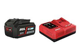 "SKIL 3111 AA Akumulator (litij-ionski ""20V Max"" (18 V) 4,0 Ah ""Keep Cool"") i punjač ""Rapid"""