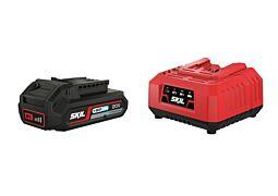 "SKIL Akumulator (litij-ionski ""20V Max"" (18 V) 2,0 Ah ""Keep Cool™"") i punjač"